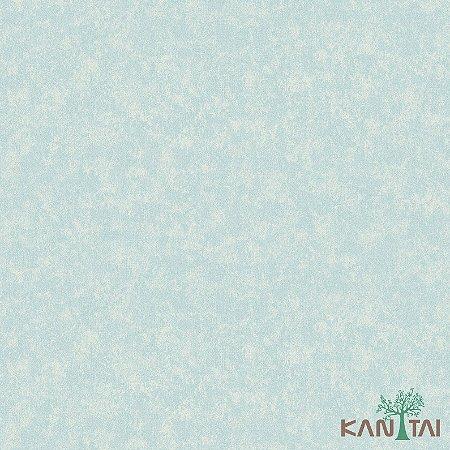 Papel de Parede Poert Chart, Azul Turquesa PT971406R