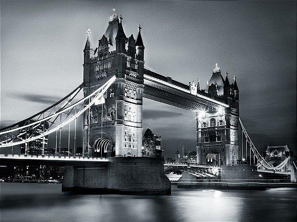 Painel fotográfico Bridge II Importado e Vinílico com 3,15 metros x 2,32 metros