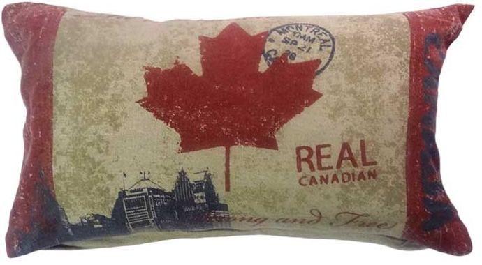 Capa para almofada Canada  30 x 50 cm, 100% Algodão