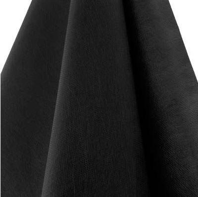 Tecido TNT Preto liso gramatura 40 - Pacote 100 metros