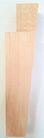 Pé para sofá de madeira natural reto para Sofás, Estofados, Puffs - 15 cm - MA-82