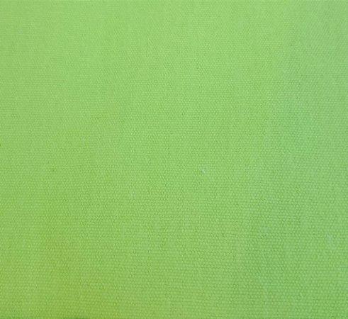 Tecido Lona 100% Algodão verde limão - DaK 08