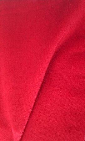 Tecido veludo Gold Liso Vermelho 05