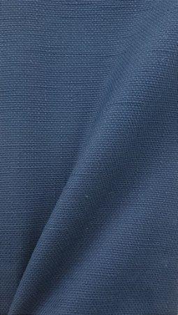 Tecido algodão impermeabilizado Liso Linhão Marinho Sev 04