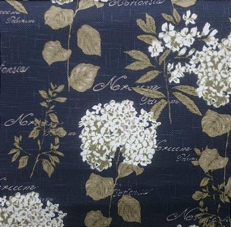 Tecido algodão impermeabilizado Linhão Hortênsia Marinho Sev 06