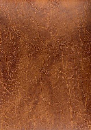Tecido courvin Rustico Marrom claro e escuro - Topazio 04