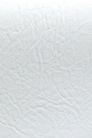 Tecido Courvin Rajado Estilo Couro Branco - Brescia 01
