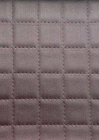 Tecido courvin estilo perfurado leve brilho Marrom - Cristal 06