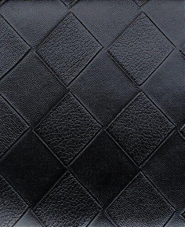 Tecido courvin Estilo Patchwork Preto  -Cristal 36