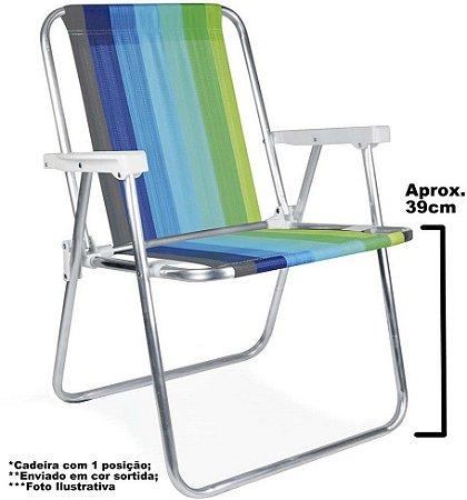 Cadeira Praia, Piscina e Camping Mor Alumínio 2101 Cor Sortidas
