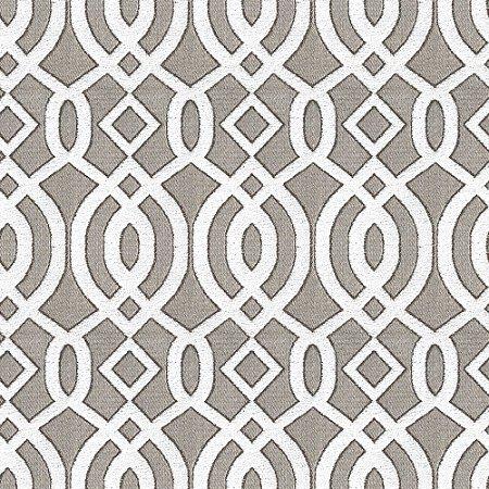 Tecido para Sofá e Estofado Chenille Viscose Mandala Branco - Largura 1,37m - COL-12