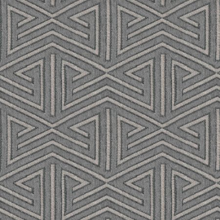 Tecido para Sofá e Estofado Chenille Viscose Triângulo Cinza - Largura 1,37m - COL-18