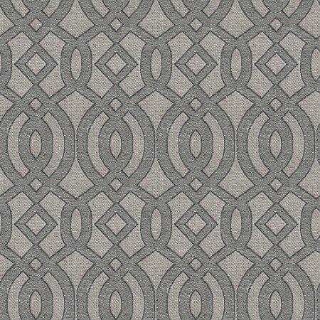 Tecido para Sofá e Estofado Chenille Viscose Mandala Cinza - Largura 1,37m - COL-19