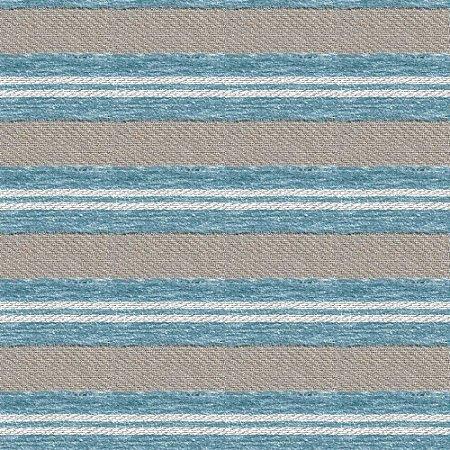 Tecido para Sofá e Estofado Viscose Listrado Azul - Largura 1,37m - COL-20