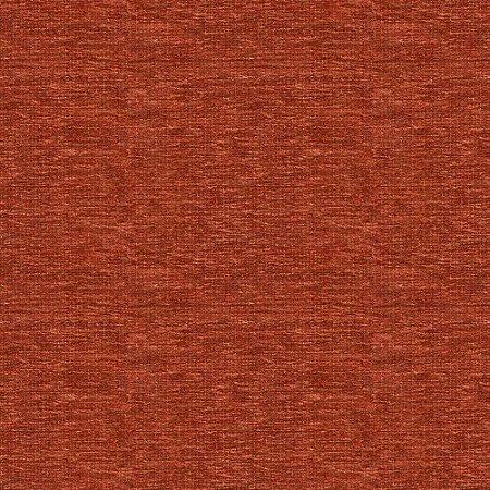 Tecido para Sofá e Estofado  Chenille Viscose Liso Coral Brick A - Largura 1,37m - COL-29