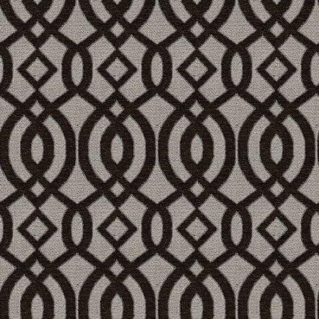 Tecido para Sofá e Estofado Chenille Viscose Mandala Marrom - Largura 1,37m - COL-42