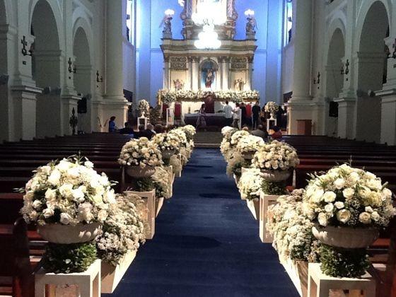 Passadeira Tapete Marinho Para Casamento, Festas 5 Metros de comprimento