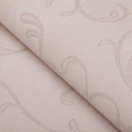 Papel de parede Arabesco Lilas claro com Gliter - Classici A91806