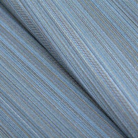 Papel de parede Listrado fino Tons de Azul Turquesa  - Classici A91710