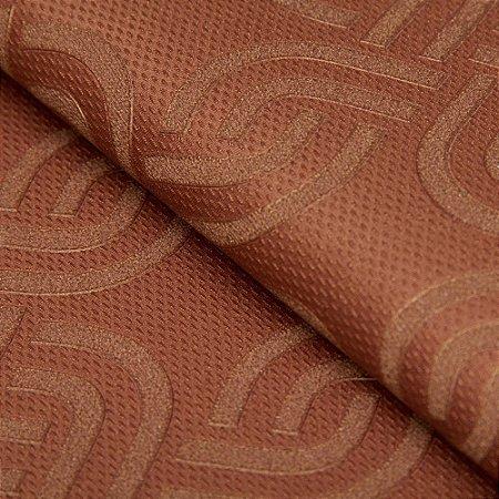 Papel de parede Geometrico Cobre - Classici A92306
