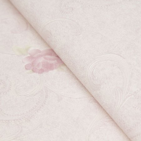 Papel de parede Clássico em Rosas no tom lilas  - Classici A92005