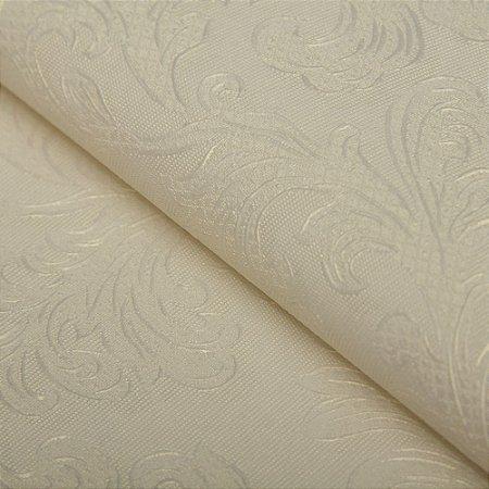 Papel de parede Folhas Floral Abstrato Branco - Classici A91601