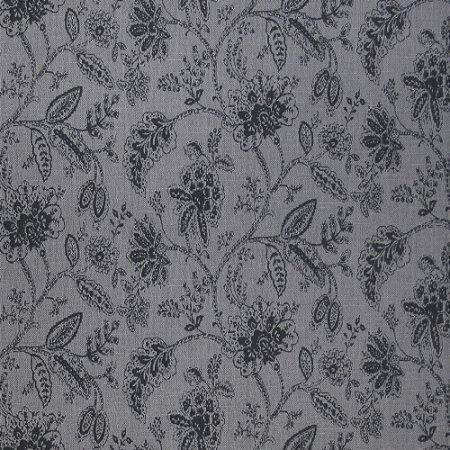 Tecido para Sofá Jacquard Floral Cinza - Largura 1,40m - PIS-04