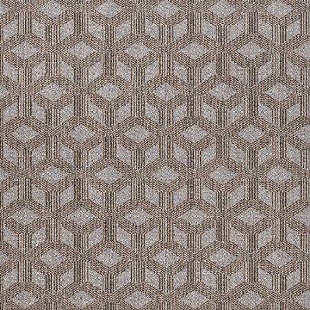 Tecido para Sofá Jacquard Geométrico Marrom Largura 1,40m - PIS-32
