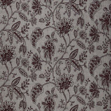 Tecido para Sofa Pisa 40 Jacquard Floral Vermelho - Largura 1,40m - PIS-40