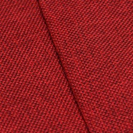 Tecido Estilo Linho Vermelho - Safira 11