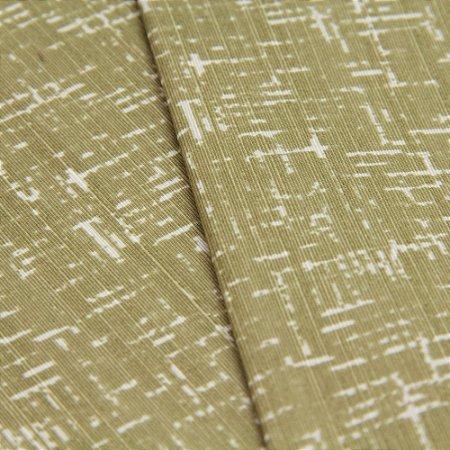 Tecido Rajado Verde Fendi e Branco - Turquesa 6