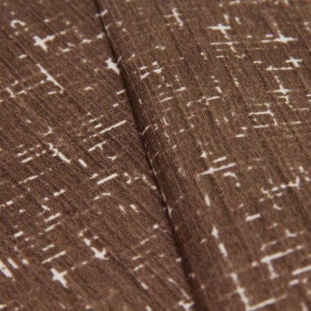 Tecido Rajado Tons de Marrom - Turquesa 10