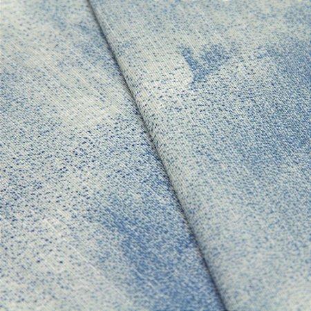 Tecido Abstrato Azul Claro - Turquesa 36