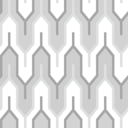 Papel de parede vinílico Geometrico Tons de Cinza e Branco - Metrópole 820301