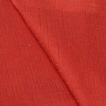 Tecido Jacquard Liso Vermelho - Irl 27