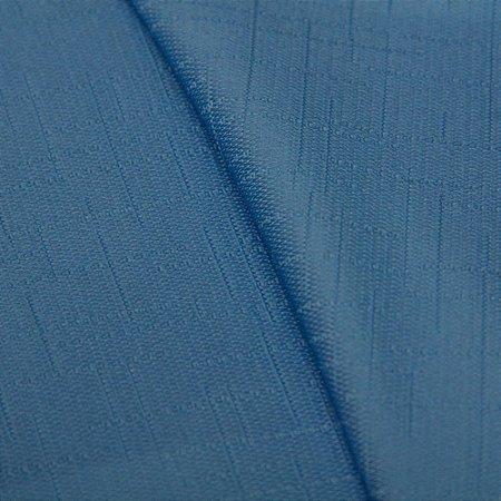 Tecido Jacquard Liso Azul - Irl 54