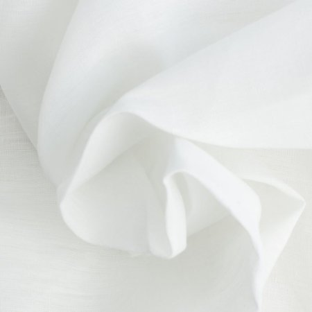 Linho Para Cortina Doha Cambraia Branco Largura 2,80m - DOH12