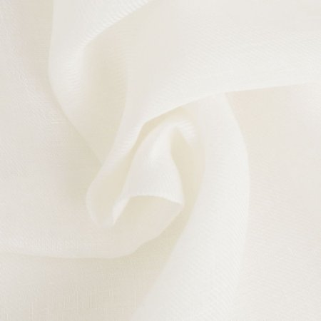 Linho Para Cortina Doha Gaze Khalifa Branco Natural Largura 2,80m - DOH21