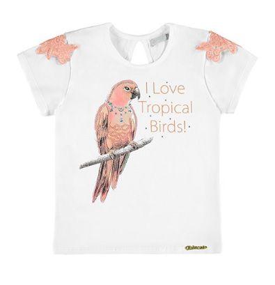 Camiseta estampada infantil Alakazoo