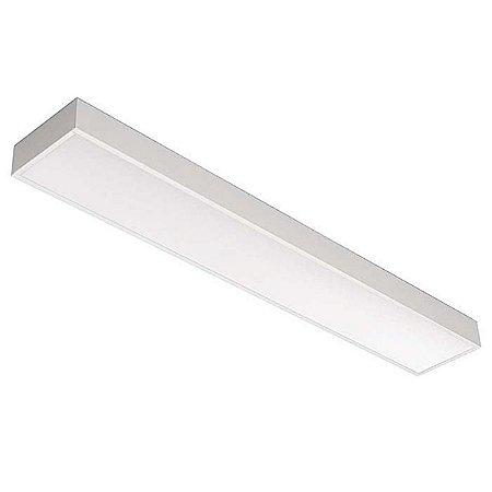 Luminária de Sobrepor Retangular 54w 2x28 - E115ACL Abalux