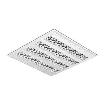 Luminária de Embutir Quadrada 4x14-24w - E83 Abaalux