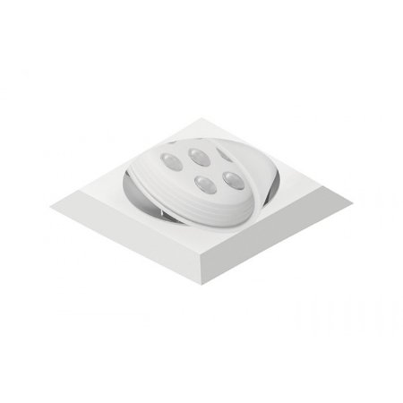Spot de Embutir Quadrado com Facho Orientável - ER43-E1ML830MB Abalux
