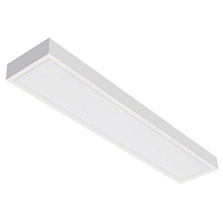 Luminária LED de Sobrepor Retangular - LEDC15-3K Abalux