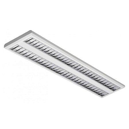 Luminária LED de Sobrepor Retangular 37w 5000k 3400lm - LEDC23-5K Abalux