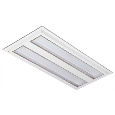 Luminária LED de Embutir Retangular 19w 4000k 1800lm - LEDC25-4K Abalux