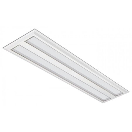 Luminária LED de Embutir Retangular 37w 5000k 3600lm - LEDC26-5K Abalux