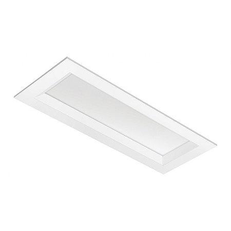 Luminária LED de Embutir Retangular - LEDC39-4K Abalux