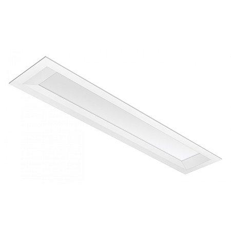 Luminária LED de Embutir Retangular - LEDC40-3K Abalux