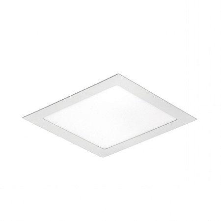 Painel LED de Embutir Quadrado 18w 3000k 1260lm - LEDT14-3K Abalux