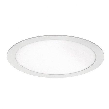 Painel LED de Embutir Redondo 24w 6000k 1700lm - LEDT18-6K Abalux